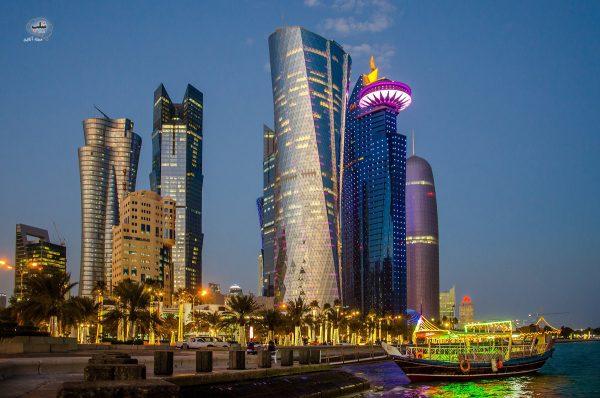 دلیل پیشرفت قطر